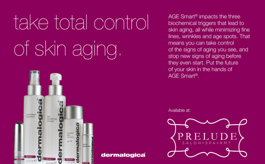 Dermalogica AGE Smart available at Prelude Salon and Spa
